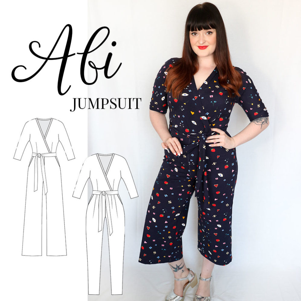Abi Jumpsuit PDF sewing pattern