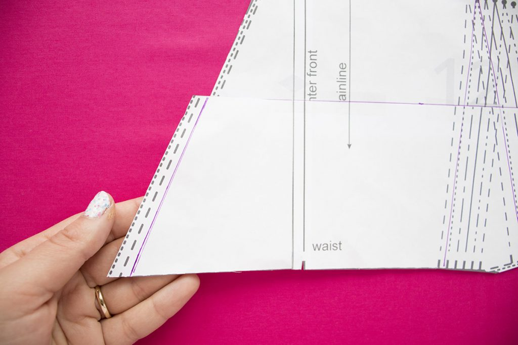 How to use the shorten/lengthen lines