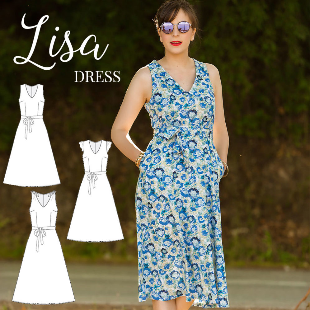 Lisa Dress PDF pattern